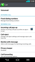 LG G2 - Voicemail - Manual configuration - Step 5