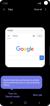 Samsung Galaxy S10e - Internet - Internet browsing - Step 16