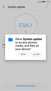 Huawei Mate 9 Pro - Device - Software update - Step 5