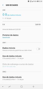 Samsung Galaxy J8 - Rede móvel - Como ativar e desativar uma rede de dados - Etapa 7