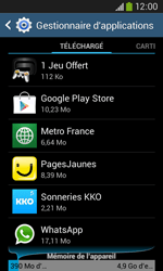 Samsung Galaxy Ace 3 - Applications - Supprimer une application - Étape 6