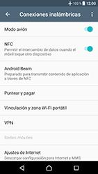 Sony Xperia XZ - Android Nougat - Funciones básicas - Activar o desactivar el modo avión - Paso 6