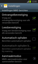 Samsung S7390 Galaxy Trend Lite - MMS - probleem met ontvangen - Stap 6
