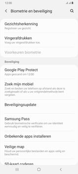 Samsung Galaxy A70 - Beveiliging en privacy - zoek mijn mobiel activeren - Stap 5