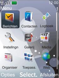 Nokia 7210 supernova - E-mail - E-mails verzenden - Stap 3