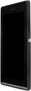 Sony Xpéria SP - Premiers pas - Découvrir les touches principales - Étape 8