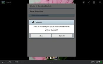 Samsung P7500 Galaxy Tab 10-1 - Bluetooth - Transferir archivos a través de Bluetooth - Paso 7