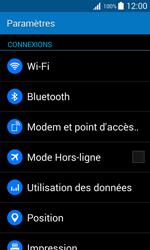 Samsung G318H Galaxy Trend 2 Lite - Wifi - configuration manuelle - Étape 3