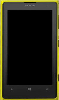 Nokia Lumia 1020 - Premiers pas - Découvrir les touches principales - Étape 4