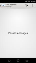 Sony D2203 Xperia E3 - E-mail - Envoi d