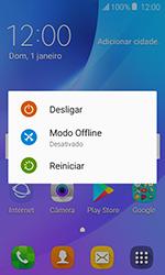 Samsung Galaxy J1 - Funções básicas - Como reiniciar o aparelho - Etapa 3
