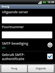 LG C660 Optimus Pro - E-mail - e-mail instellen: POP3 - Stap 12