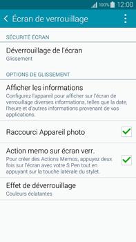 Samsung Galaxy Note 4 - Sécuriser votre mobile - Activer le code de verrouillage - Étape 5