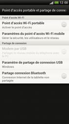 HTC One S - Internet et connexion - Partager votre connexion en Wi-Fi - Étape 6