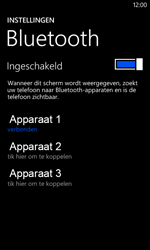 Nokia Lumia 620 - Bluetooth - headset, carkit verbinding - Stap 8