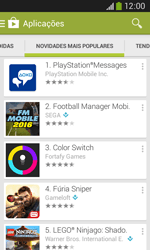 Samsung Galaxy Ace 3 LTE - Aplicações - Como pesquisar e instalar aplicações -  11