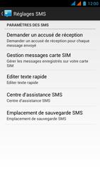 Wiko Darkmoon - SMS - Configuration manuelle - Étape 8