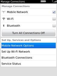 BlackBerry 9800 Torch - Network - Usage across the border - Step 4