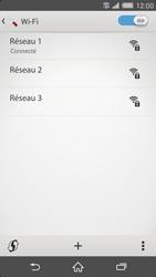 Sony Xperia Z2 - Internet et connexion - Accéder au réseau Wi-Fi - Étape 10