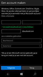 Microsoft Lumia 950 - Applicaties - Account instellen - Stap 14