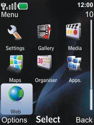 Nokia 6600i slide - Internet - Internet browsing - Step 2