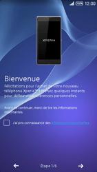 Sony Xpéria T3 - Premiers pas - Créer un compte - Étape 4