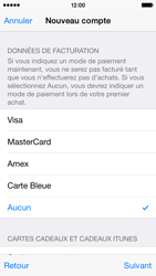 Apple iPhone 5s - iOS 8 - Applications - Créer un compte - Étape 19