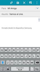Samsung Galaxy A3 - E-mail - Escribir y enviar un correo electrónico - Paso 9