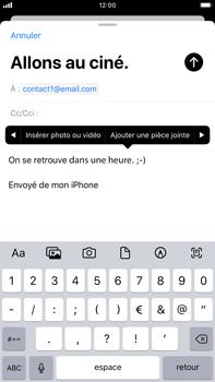 Apple iPhone 7 Plus - iOS 13 - E-mail - envoyer un e-mail - Étape 9