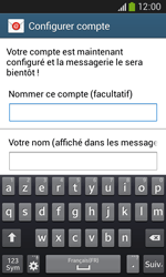 Samsung Galaxy Core Plus - E-mail - Configuration manuelle - Étape 19