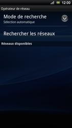 Sony Ericsson Xperia Ray - Réseau - utilisation à l'étranger - Étape 10