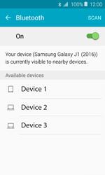 Samsung Galaxy J1 - WiFi and Bluetooth - Setup Bluetooth Pairing - Step 6