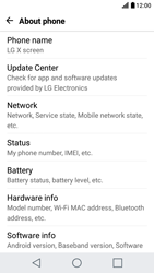 LG X Screen - Network - Installing software updates - Step 6