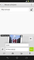 Sony C5303 Xperia SP - MMS - Afbeeldingen verzenden - Stap 15