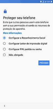 Samsung Galaxy J8 - Primeiros passos - Como ativar seu aparelho - Etapa 12