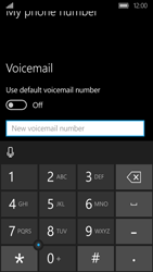 Acer Liquid M330 - Voicemail - Manual configuration - Step 8