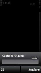 Nokia X6-00 - E-mail - Handmatig instellen - Stap 13