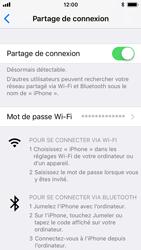 Apple iPhone SE - iOS 11 - Internet et connexion - Partager votre connexion en Wi-Fi - Étape 8