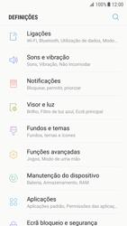 Samsung Galaxy S7 - Android Nougat - Internet no telemóvel - Como ativar os dados móveis -  4