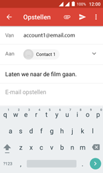 Alcatel Pixi 4 (4) - E-mail - Hoe te versturen - Stap 10