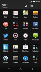 HTC Desire 610 - Internet - Enable or disable - Step 3