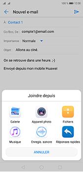 Huawei P20 pro - E-mails - Envoyer un e-mail - Étape 10