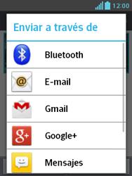 LG Optimus L3 II - Bluetooth - Transferir archivos a través de Bluetooth - Paso 8