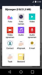 LG K4 - E-mail - Hoe te versturen - Stap 11