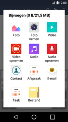 LG K4 - E-mail - Bericht met attachment versturen - Stap 11