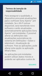 Sony Xperia Z3 Plus - Primeiros passos - Como ligar o telemóvel pela primeira vez -  17