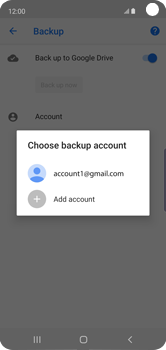 Samsung Galaxy S10e - Data - Create a backup with your account - Step 9