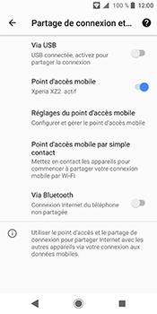 Sony Xperia XZ2 - Internet et connexion - Partager votre connexion en Wi-Fi - Étape 12