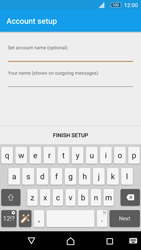 Sony Xperia M5 - Email - Manual configuration - Step 21