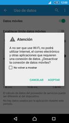 Sony Xperia Z5 Compact - Internet - Activar o desactivar la conexión de datos - Paso 6